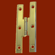 Machined Solid Brass Colonial Offset H Hinge 3-1/2 long BM-1583PL