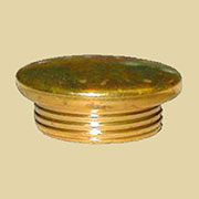 Brass Oil Lamp Filler Cap B-9516