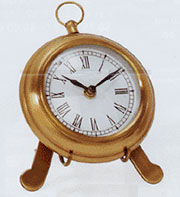 Brass Easel Shelf Clock