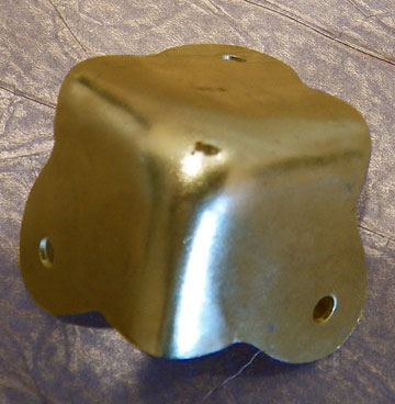Brass Plated Steel Trunk Corner D 4444 Corners For