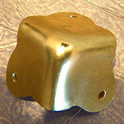 Brass Plated Steel Trunk Corner D-4444