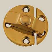 Turn Button Latch Solid Brass  BM-1616PB