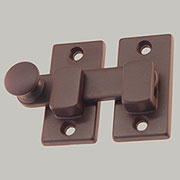 Oil Rubbed Bronze Window Shutter Bar Latch  BM-8816OB