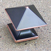 Oil Rubbed Bronze Pyramid Knob P-3014-OBHHERSH