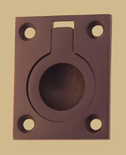 Oil Rubbed Bronze Recessed Ring Pull BM-1141OB