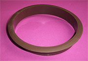 Nylon Trash Trim Ring Grommet Brown Plastic HC-6144-058