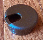 1-17/32 Inch Hole Size Brown Nylon Wire Grommet SPSWC445B