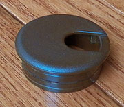 1-3/4 Inch Hole Size Brown Nylon Wire Grommet SPSWC51B