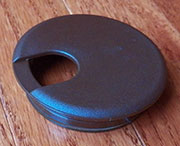 2-9/16 Hole Size Brown Nylon Wire Grommet SPSWC76B