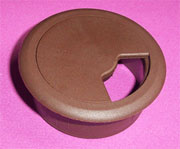 3-1/8 Inch Hole Fit Brown Wire Grommet 6249-058