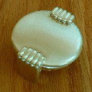 Art Deco Drawer Pull Brushed Brass Finished LS-94 D-0672