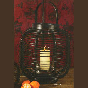 Asian Candle Holder Lantern HA-9312-13