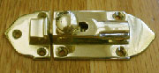 Cast Brass Cabinet Latch B-1401
