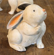 Homart Cast Iron Hello Bunny HA-1678-0