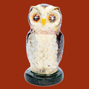 "Owl in Cast Iron ""Hooty"" HA-1670-0"