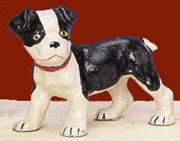 Cast Iron Terrier Pup Door Stop UDX-388