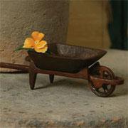 Homart Cast Iron Wheel Barrow HA-1566-1