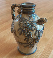 Ceramic Grape Wine Pitcher