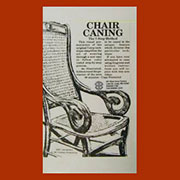 Video Chair Caning DVD - The 7-Step Method V-0011