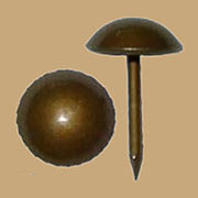 Upholstery Chair Seat Tacks French Natural Finish 50 count