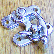 Nickel Plated Purse Latch OBP-2127NP