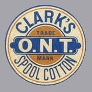 Spool Cabinet Label Decal Clarks H-1050