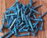 Steel Clout Cut Nails 4 Ounce Lot S-3571