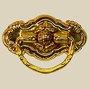 Colonial Revival Style Drawer Pull D-94 BM-1194PB