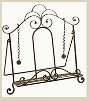 Ornate Iron Cook Book Easel Holder UDX-3005