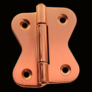 Polished Hoosier Style Hinge Copper Butterfly Sold by Each Not Pairs I-33CPR BM-1602CPR