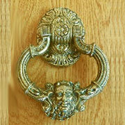 Greek God Zeus Door Knocker in Solid Brass TR-B2506P