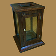 Z Discontinued, will not ship. Haan Wooden Display Case with Door HA-9601-13