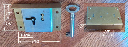 Till / Drawer Lock M-1848