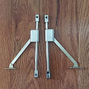 Pair of Drop Front Desk Lid Stays L&R Hand SX-8519-metLRH