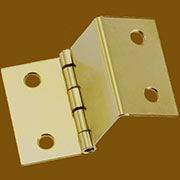 Brass Plated Steel Tight Pin, Offset Hinge H-99P H98TIGHTP