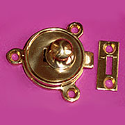 Flip Top Cast Brass Table Catch I-14 MO-902158