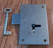 Lock Flush Mount M-1866