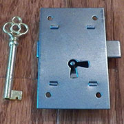 Flush Mount Steel Lock M-1852
