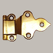 Fold Over Napanee Hoosier Hinge Brass Sold by each Not Pairs I-38 BM-1599PB