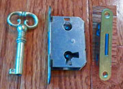 Full Mortise Lock and Key M-1888