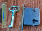 Full Mortise Lock and Key M-1890