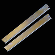 Bookcase Door Liners for Globe Wernicke Macey Stack Bookcases Pair BM-1443ZP S-2795