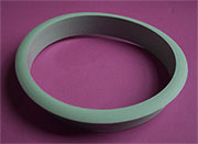 Nylon Trash Trim Ring Grommet Grey Plastic HC-6144-021