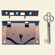 Half Mortise Small Chest Lock M-1808 BM-6546