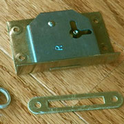 REPAIR PARTS DROP IN LOCK STRIKE PLATE NEW  D1993