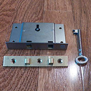 Half Mortise Chest Lock M-1806