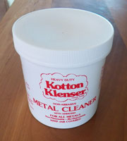 16 oz. Kotton Klenser Metal Cleaner J-3412