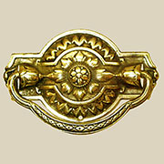 Colonial Revival Hepplewhite Drawer Pull D-65 BM-1165PB
