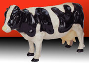 Cow Large Cast Iron Holstein Milk Cow UDX-428