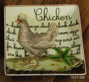 Homart Porcelain Chicken Tray Plate HA-7017-295